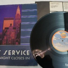 Discos de vinilo: SECRET SERVICE - WHEN THE NIGHT CLOSES IN - ESPAÑOL 1985. Lote 87879056