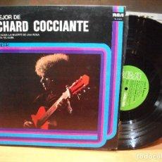 Discos de vinilo: LP RICHARD COCCIANTE - LO MEJOR DE - RCA - 1976. Lote 87881024