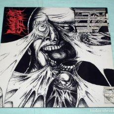 Discos de vinilo: PUNGENT STENCH - DISHARMONIC ORCHESTRA SPLIT LP. Lote 87913804