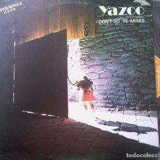 Discos de vinilo: YAZOO - DON'T GO REMIXES. MAXI-SINGLE PROMOCIONAL. 1981. Lote 87931676