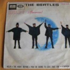Discos de vinilo: THE BEATLES EP ODEON 1965 HELP +3 . Lote 87937188
