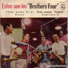 Discos de vinilo: BROTHERS FOUR - EP PHILIPS SPAIN 1960. Lote 87943692