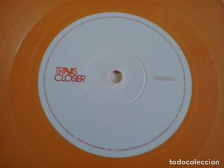Discos de vinilo: TRAVIS: CLOSER 2007 Vinyl, 7, Single, 2/2, Orange EDICION LIMITADA DISCO NARANJA - Foto 3 - 87988568