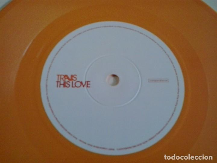 Discos de vinilo: TRAVIS: CLOSER 2007 Vinyl, 7, Single, 2/2, Orange EDICION LIMITADA DISCO NARANJA - Foto 4 - 87988568