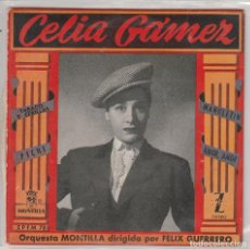 Discos de vinilo: CELIA GAMEZ / TABACO Y CERILLAS + 3 (EP 1959). Lote 88090540