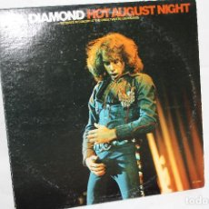 Discos de vinilo: DISCO VINILO DOBLE LP - NEIL DIAMOND - HOT AUGUST NIGHT - MCA 2-8000 USA. Lote 88094752