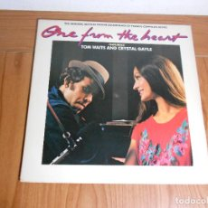 Discos de vinilo: BANDA SONORA CORAZONADA (ONE FROM THE HEART), TOM WAITS FEATURING CRYSTAL GAYLE. Lote 88097708