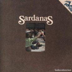 Discos de vinilo: SARDANAS - - LA SARDANA DE LES MONJES / GIRONA AIMADA...LP HISPAVOX DE 1973 ,RF-3084. Lote 88102260