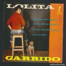 Discos de vinilo: LOLITA GARRIDO.EP-ZAFIRO.AÑO 1960.. Lote 88103624