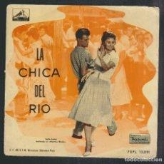 Discos de vinilo: LA CHICA DEL RIO.( SOFIA LOREN ).EP-LA VOZ DE SU AMO.S/F.. Lote 88106156