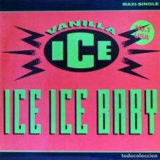 Discos de vinilo: VANILLA ICE - ICE ICE BABY (MX) 1990. Lote 88126720