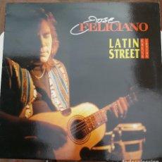 Discos de vinilo: VINILO - LP. JOSE FELICIANO. LATIN STREET (CALLE LATINA). FONOMUSIC 1993 - ESTADO DE LUJO. IMPECABLE. Lote 88133052