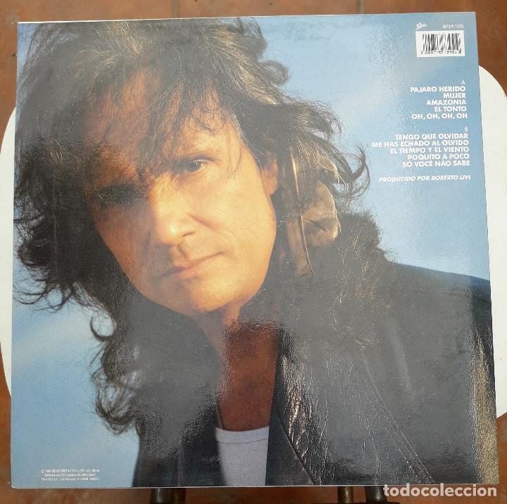 Discos de vinilo: Vinilo - LP. Roberto Carlos. Pajaro herido. CBS 1990 - Estado de lujo. Ver fotos - Foto 2 - 88133680