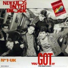 Discos de vinilo: NEW KIDS ON THE BLOCKS / YOU GOT IT (MX) 1988 (CBS). Lote 88136748