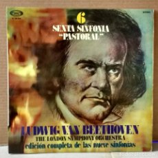 Discos de vinilo: BEETHOVEN - THE LONDON SYMPHONY ORCHESTRA 6. Lote 88145140
