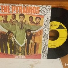 Discos de vinilo: THE PYRAMIDS - MEXICAN MOONLIGHT + JOHN CHEWEY - RARO. Lote 88146836