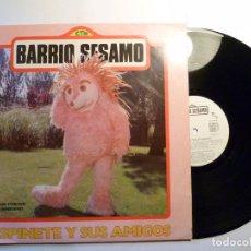 Discos de vinilo: ESPINETE Y SUS AMIGOS # BARRIO SESAMO DRO 4D-145 1985. Lote 88158296