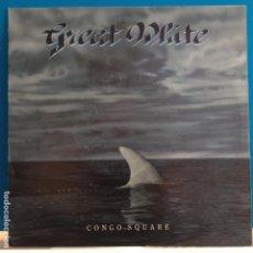 Discos de vinil: GREAT WHITE - CONGO SQUARE - NUEVO. Lote 88167452