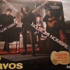 Discos de vinilo: LOS BRAVOS. Lote 88169424