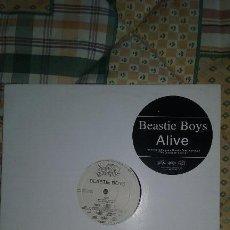 Discos de vinilo: MAXI PROMOCIONAL BEASTIE BOYS- ALIVE. CAPITOL RECORDS 1999. Lote 88210396