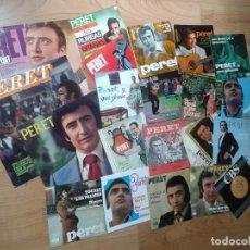 Discos de vinilo: COLECCIÓN VINILO -- PERET -- EL REY DE LA RUMBA -- 3 LP´S + 18 MAXI SINGLES --. Lote 88280160