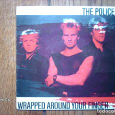Discos de vinilo: THE POLICE - WRAPPED AROUND YOUR FINGER + SOMEONE TO TALK TO . Lote 88280632