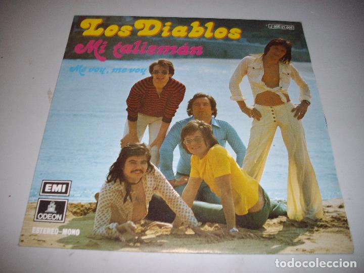 DISCO SINGLE LOS DIABLOS MI TALISMAN (Música - Discos - Singles Vinilo - Flamenco, Canción española y Cuplé)