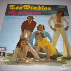 Discos de vinilo: DISCO SINGLE LOS DIABLOS MI TALISMAN. Lote 88305644