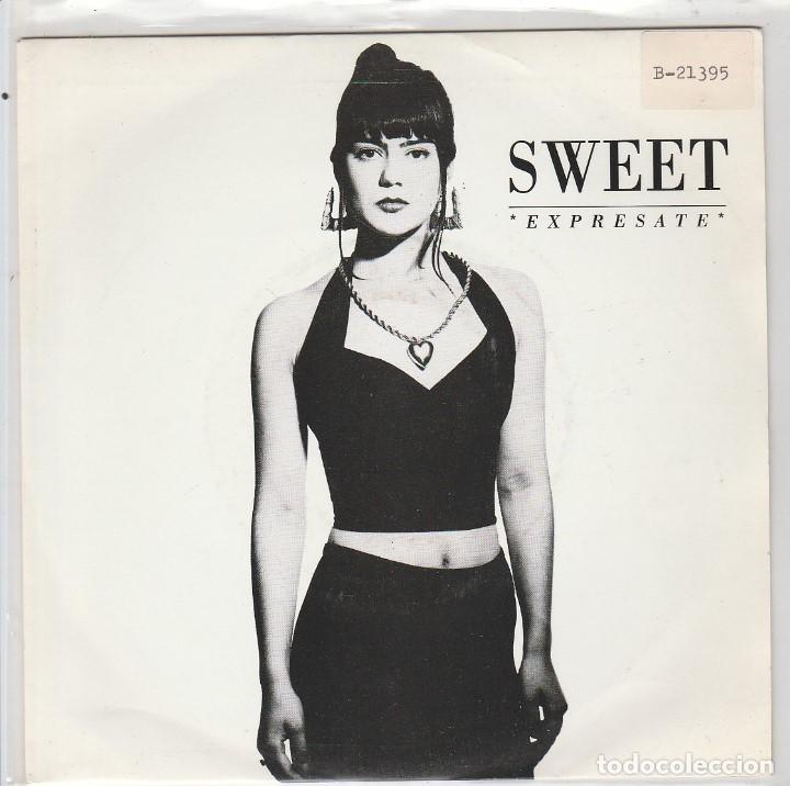 SWEET / EXPRESATE / + INSTRUMENTAL (SINGLE 1990) (Música - Discos - Singles Vinilo - Rap / Hip Hop)