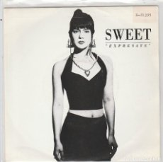 Dischi in vinile: SWEET / EXPRESATE / + INSTRUMENTAL (SINGLE 1990). Lote 88308604