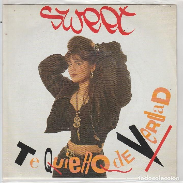 SWEET / TE QUIERO DE VERDAD / + VERSION SWEET TO SWEET (SINGLE 1989) (Música - Discos - Singles Vinilo - Rap / Hip Hop)