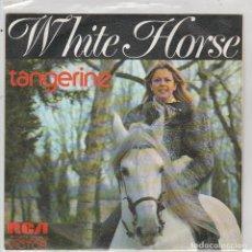 Disques de vinyle: TANGERINE / WHITE HORSE / TE ACORDARAS DE MI (SINGLE PROMO 1973). Lote 88312096