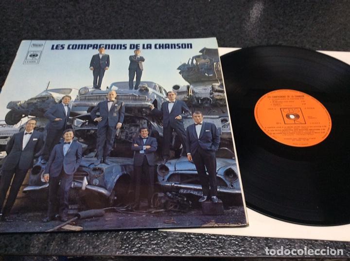 LES COMPAGNONS DE LA CHANSON - EDICION FRANCESA ( DOCE CANCIONES ) (Música - Discos - LP Vinilo - Canción Francesa e Italiana)