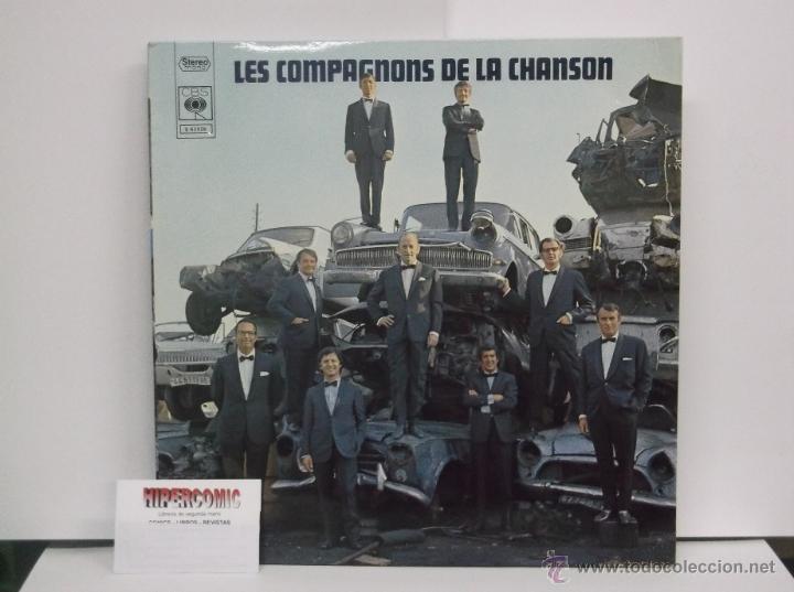 Discos de vinilo: LES COMPAGNONS DE LA CHANSON - EDICION FRANCESA ( DOCE CANCIONES ) - Foto 2 - 46224047