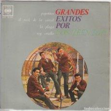 Discos de vinil: LOS TEEN TOPS / POPOTITOS / LA PLAGA / REY CRIOLLO / EL ROCK DE LA CARCEL (EP 1963). Lote 88339440