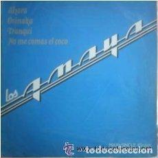 Discos de vinilo: LOS AMAYA; AHORA, OSINAKA, TRANQUI ....MAXI-SINGLE ESPECIAL DISCOTECA 1983. Lote 88344928