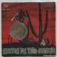 Discos de vinilo: TITO GUIZAR / JURAME / NOCHE DE RONDA / ROGACIANO / GUADALAJARA (EP 1963). Lote 88349192
