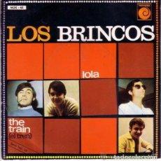Discos de vinilo: LOS BRINCOS, LOLA, SINGLE NOVOLA 1967 . Lote 88351316