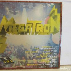 Discos de vinilo: MEGATRON - TEE GREEN, ZENTRAL, THE JOKER´S, - 2 X LP - 1993 - SPAIN - G/VG+. Lote 88358484