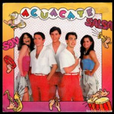 Discos de vinilo: AGUACATE - SPAIN SINGLE MOVIEPLAY 1981 - SALSA MIX / SON MIX - PROMO SINGLE 45 RPM. Lote 88366940