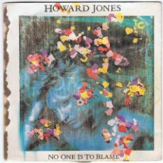 Discos de vinilo: HOWARD JONES - NO ONE IS TO BLAME / THE CHASE. Lote 88375404