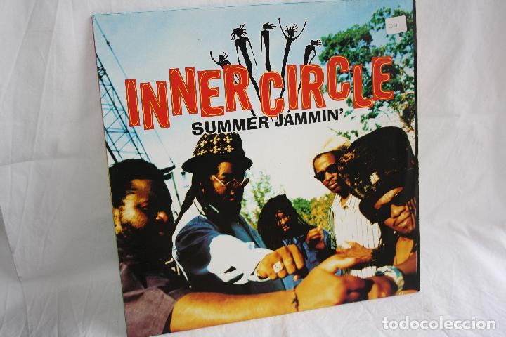 DISCO VINILO MAXI SINGLE - INNER CIRCLE SUMMER JAMMIN' - MADE IN GERMANY 1994 (Música - Discos de Vinilo - Maxi Singles - Reggae - Ska)