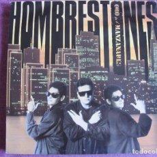 Discos de vinilo: LP - HOMBRESTONES - ORO EN EL MANZANARES (SPAIN, RTVE 1990). Lote 88386856