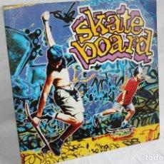 Discos de vinilo: DISCO VINILO LP DOBLE - SKATE BOARD BLANCO Y NEGRO MUSIC MXLP - 253. Lote 88387696