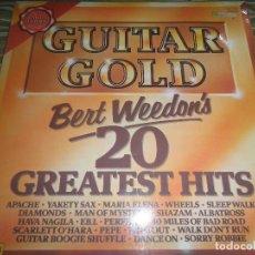 Discos de vinilo: BERT WEEDON - GUITAR GOLD LP - EDICION INGLESA - PICWICK 1976 - LIMITED EDITION -. Lote 88399628