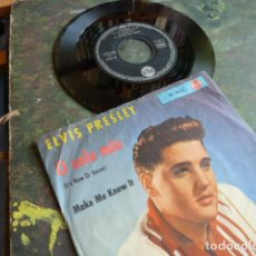 Discos de vinilo: ELVIS PRESLEY -O SOLE MIO -MAKE ME KNOW IT -EDICION ALEMANA -GERMANY-. Lote 88459200