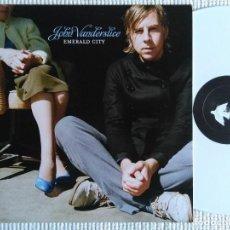 Discos de vinilo: JOHN VANDERSLICE - '' EMERALD CITY '' WHITE VINYL LP + BONUS 2007 GERMANY. Lote 88468184