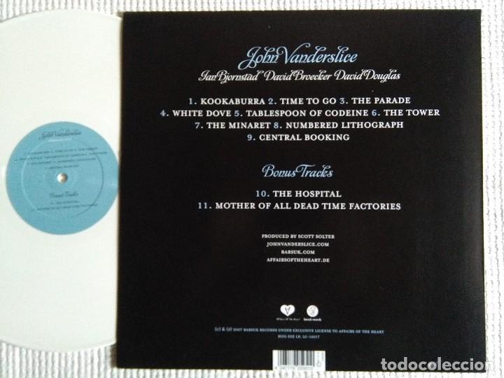 Discos de vinilo: JOHN VANDERSLICE - EMERALD CITY WHITE VINYL LP + BONUS 2007 GERMANY - Foto 2 - 88468184