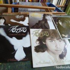 Discos de vinilo: EL POTITO -LOTE DE 5 SINGLES PROMOCIONALES-. Lote 88499208