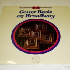 Discos de vinilo: COUNT BASIE Y SU ORQUESTA EN BROADWAY LP 1976. Lote 88499588